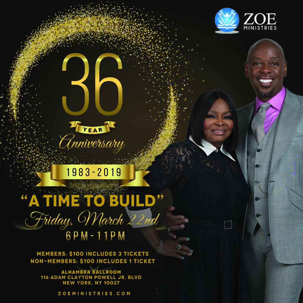 Zoe Ministries 36th Year Anniversary Celebration