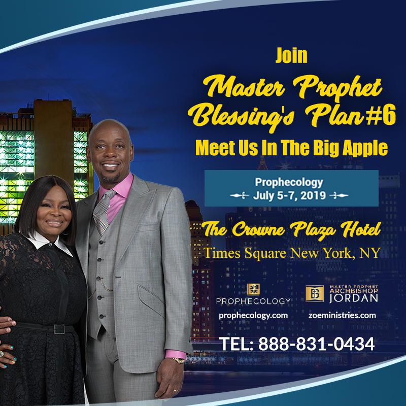 Master Prophet's Blessing Plan #6: Prophecology In NYC