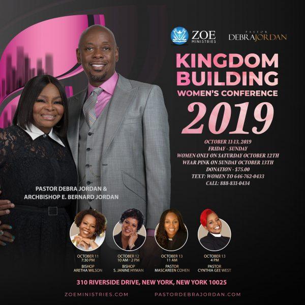 Kingdom Building Women's Conference 2019