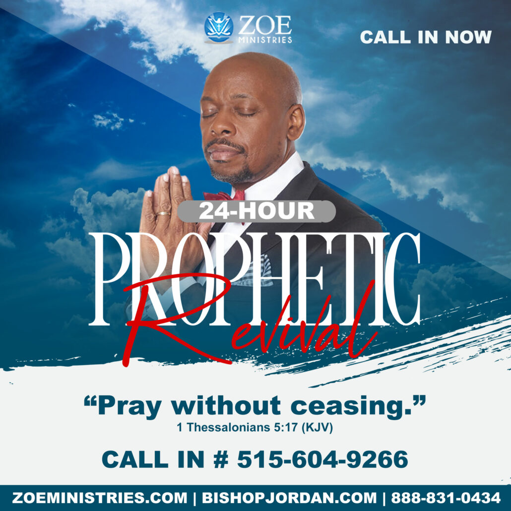 Join the 24-Hour Prophetic Revival Conference Call